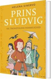 prins sludvig og tronstolens hemmelighed - bog