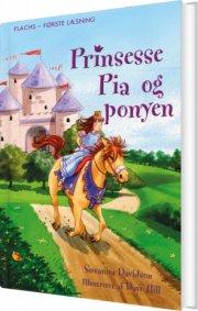prinsesse pia og ponyen - bog