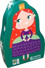 puslespil til børn - prinsesse - Brætspil