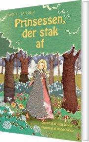 prinsessen, der stak af - bog