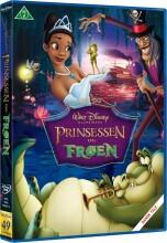 prinsessen og frøen - disney - DVD