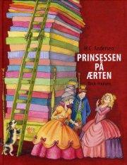 prinsessen på ærten - bog