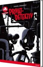 privatdetektiv - rød læseklub - bog