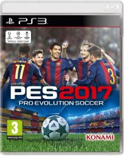 pes 17 / 2017 - pro evolution soccer - PS3