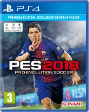 pes 2018 / pro evolution soccer 2018 - day 1 edition - PS4