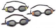 pro racer svømmebriller - blå / orange / gul - Bade Og Strandlegetøj
