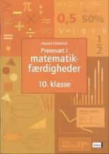 prøvesæt i matematikfærdigheder, 10.kl - bog