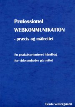 professionel webkommunikation - bog