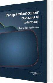 programkoncepter - bog