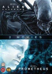 prometheus // alien: covenant - DVD