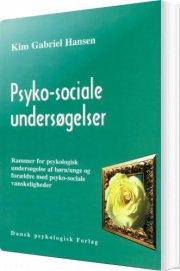 psyko-sociale undersøgelser - bog