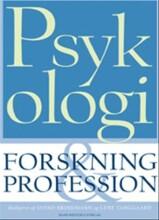 psykologi: forskning og profession - bog