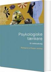 psykologiske tænkere - bog