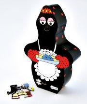 barbapapa puslespil til børn - barbamama bager - Brætspil