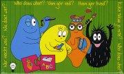 puslespil: barbapapa - hvem gør hvad ? - 2 brikker, fra 2 år - 10 plader - Brætspil
