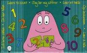 barbapapa puslespil til børn - lær at tælle - Brætspil