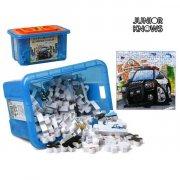 puslespil med beholder - 80 brikker - Brætspil