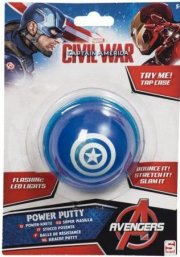 captain america putty bold med lys - Babylegetøj