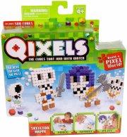 qixels - theme refill pack - skeleton army - Kreativitet