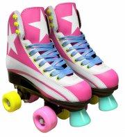 quad skates side by side rulleskøjter - str. 34 - Udendørs Leg