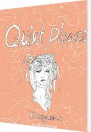 quiet please - vi tegner - bog