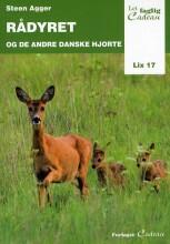 rådyret og de andre danske hjorte - bog