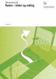 radon - kilder og måling - bog