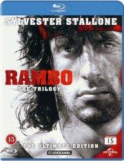 rambo 1: first blood // rambo 2: first blood part 2 // rambo 3 - Blu-Ray