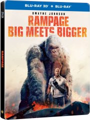 rampage - out of control - 2018 - 3D Blu-Ray