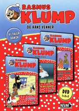 rasmus klump boks 1 - rejser jorden rundt // på nye eventyr // på udflugt - DVD