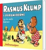 rasmus klump i pyramiderne og tre andre historier - bog
