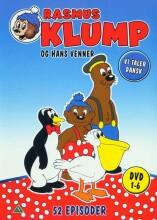 rasmus klump og hans venner 1-6 - boks - DVD