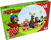 rasmus klump puslespil - pakke med 2 puslespil - Brætspil