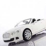 rc bentley continental gt cabriolet hvid - fjernstyret bil - Fjernstyret Legetøj