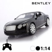 rc bentley continental gt sort - fjernstyret bil - Fjernstyret Legetøj