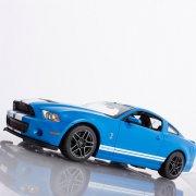 rc ford shelby gt500 - blå - fjernstyret bil - Fjernstyret Legetøj
