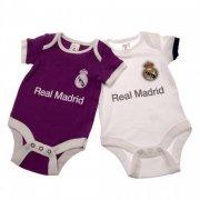 real madrid merchandise - bodystocking til baby - 3-6 mdr - Merchandise