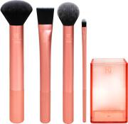 real techniques flawless base makeup børster sæt - Makeup