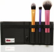 real techniques travel essentials makeup brush set / makeup børster sæt - Makeup