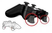 playstation 3 controller - real triggers - gioteck - Konsoller Og Tilbehør