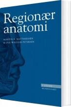 regionær anatomi - bog