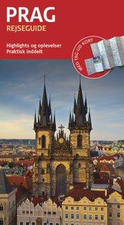 rejseguide med kort - prag - bog