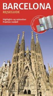 rejseguide med kort - barcelona - bog