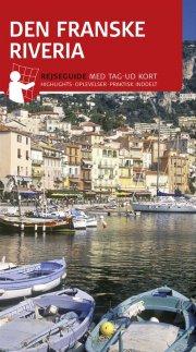 rejseguide med kort - den franske riviera - bog