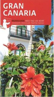 rejseguide med kort - gran canaria - bog