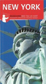 rejseguide med kort - new york - bog