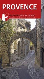 rejseguide med kort - provence - bog