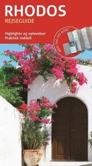 rejseguide med kort - rhodos - bog