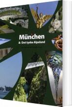 rejseklar til münchen og det tyske alpeland - bog