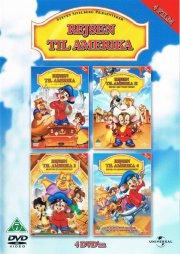 rejsen til amerika / an american tail - 1-4 - DVD